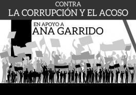 Cartel concentración Ana Garrido