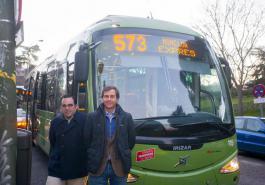 Autobus 573 Ubeda Terol