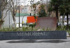 Memorial de Zaragoza a las víctimas del Yak-42
