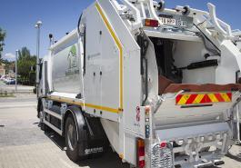 Camión de la basura de Boadilla